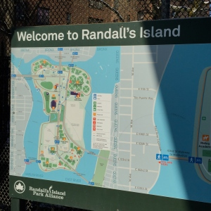 Map of Randall's Island