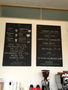 The Good Batch menu